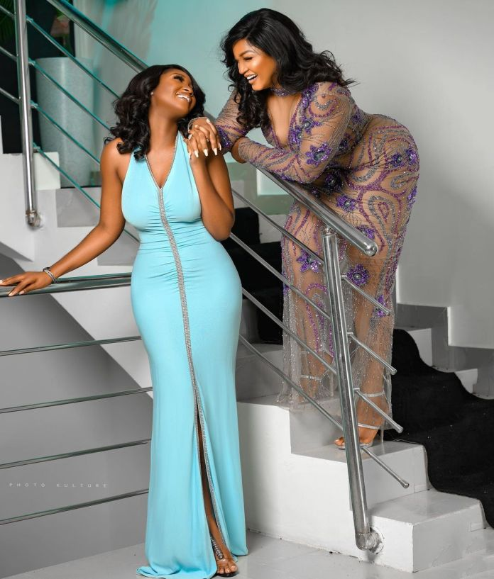 Image result for Actress, Omotola Ekeinde and her daughter, Meraiah, celebrate their birthday with adorable photos