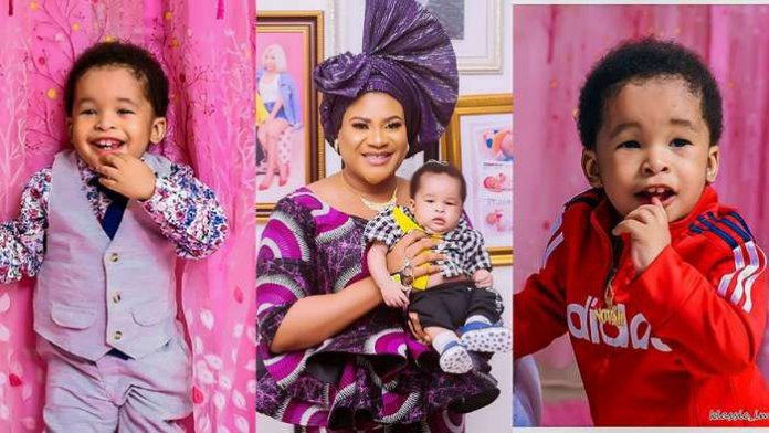 Nkechi Blessing Reels Out More Pictures Of Son Ahead On 2nd Birthday