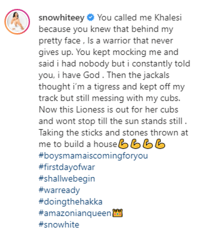The Lioness Is Coming For Her Cubs - FFK's Ex, Precious Declares War Over Child Custody