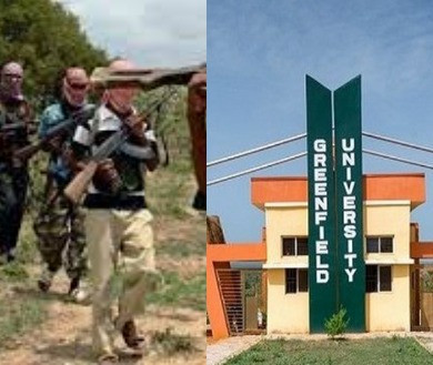 Bandits kidnap Greenfield University Students