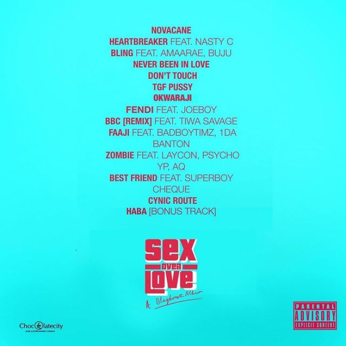 New Music Friday: Blaqbonez Drops New Album Sex Over Love