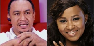Daddy Freeze and Mary Njoku