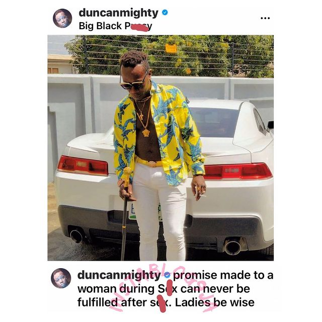 Promises Made During Sex Can Never Be Fulfilled! - Duncan Mighty Schools Ladies