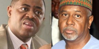 Femi Fani Kayode FFK and Colonel Dasuki