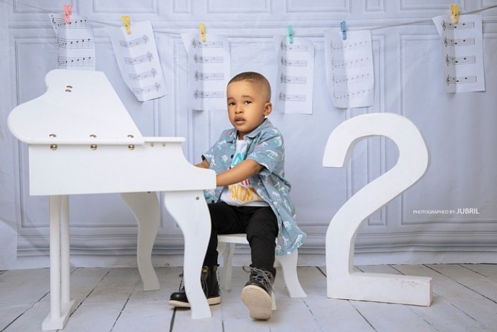 KOKO Junior: NBS' Son Elijah Success Is A Cute Music Superstar For 2nd Birthday