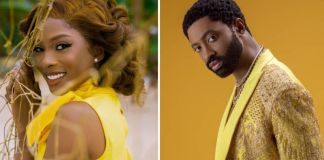 Ric Hassani and Jemima Osunde