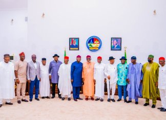 Asaba Accord 17 Southern Governors At The Asaba meetings KOKO TV NG 2