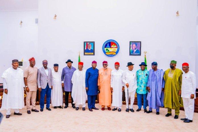 17 Southern Governors At The Asaba meetings KOKO TV NG 2