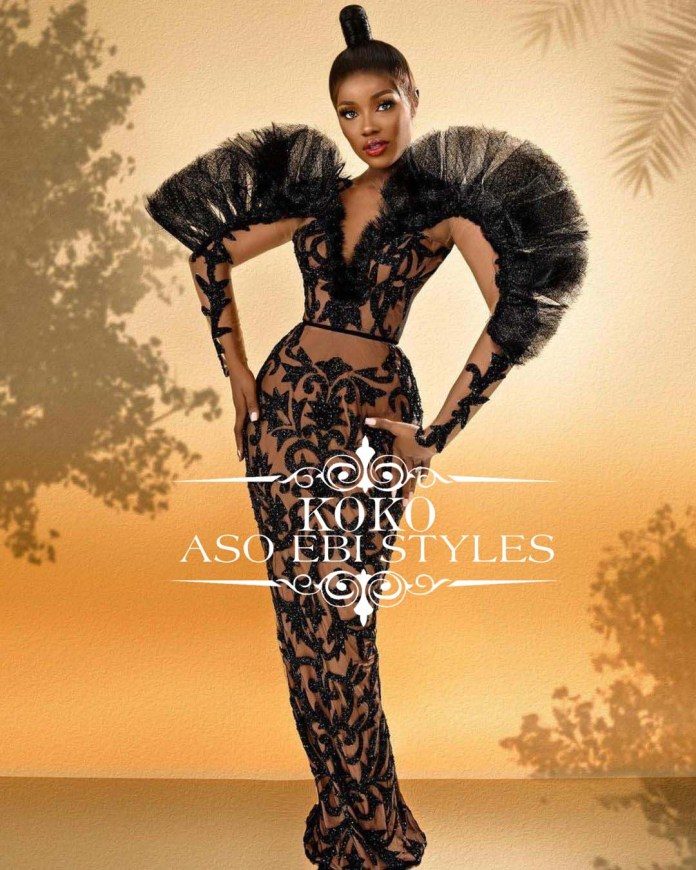 Restrict Airflows With These Gagging Aso Ebi Styles