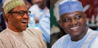 Buhari and Garba Shehu