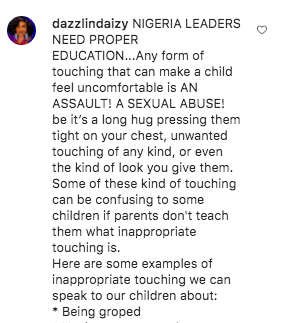 Dazzlin Daizy reacts to Busola Dakolo's post about Baba Ijesha KOKO TV Nigeria
