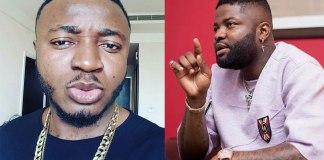 Rapper Skales and MC Galaxy KOKO TV Nigeria