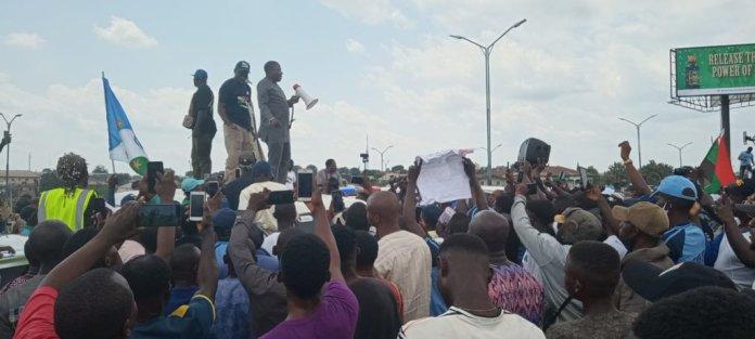 Sunday Igboho Protesting