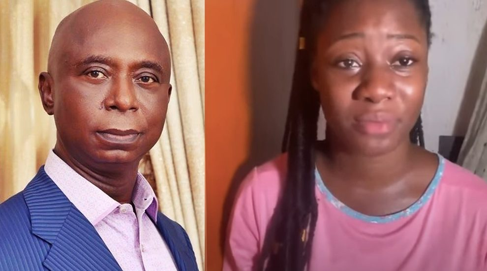 Please Release My Daddy - Young Lady Calls Out Ned Nwoko Over Injustice