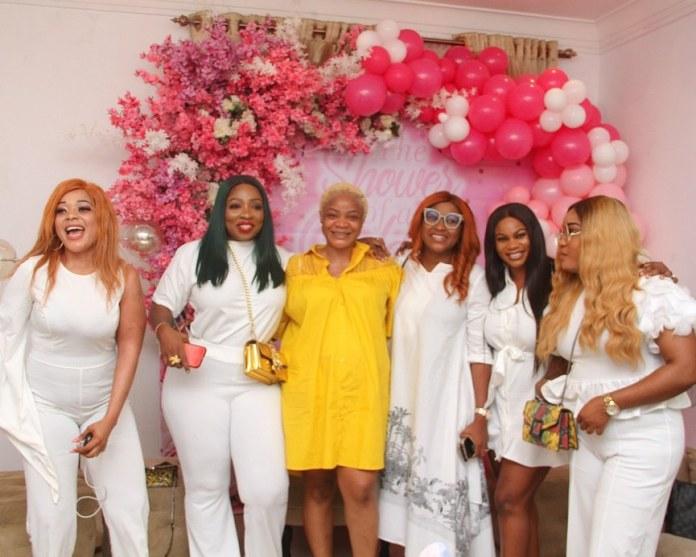 Uche Ogbodo Baby Shower: Anita Joseph Drags Moyo Lawal For Not Attending