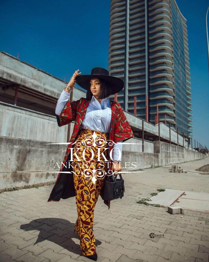 Ankara Kimono Dresses