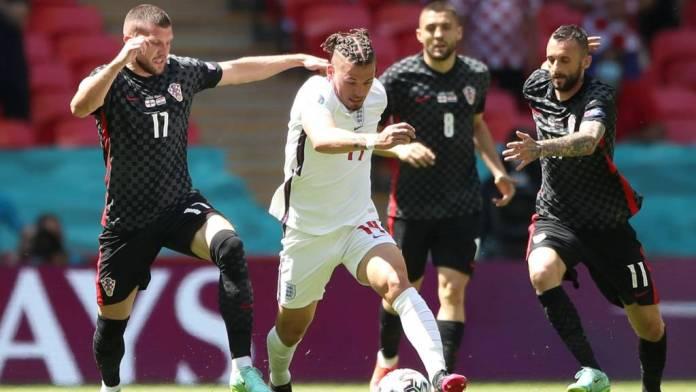 Euro 2020; England Vs Croatia Kalvin Philips