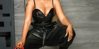 Mercy Eke Makes Leather On Leather Combo Look Super Chic 4 koko tv ng