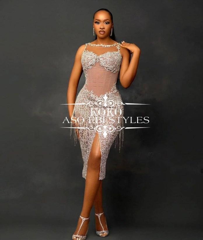 Aso Ebi Bridesmaid gowns