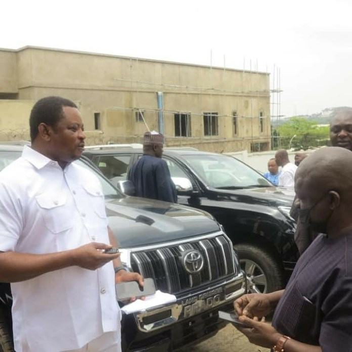 Defection Gift Ayade Gifts Reps Members Range Rover For Dumping PDP