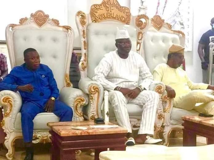 Sunday Igboho and Chief Gani Adams