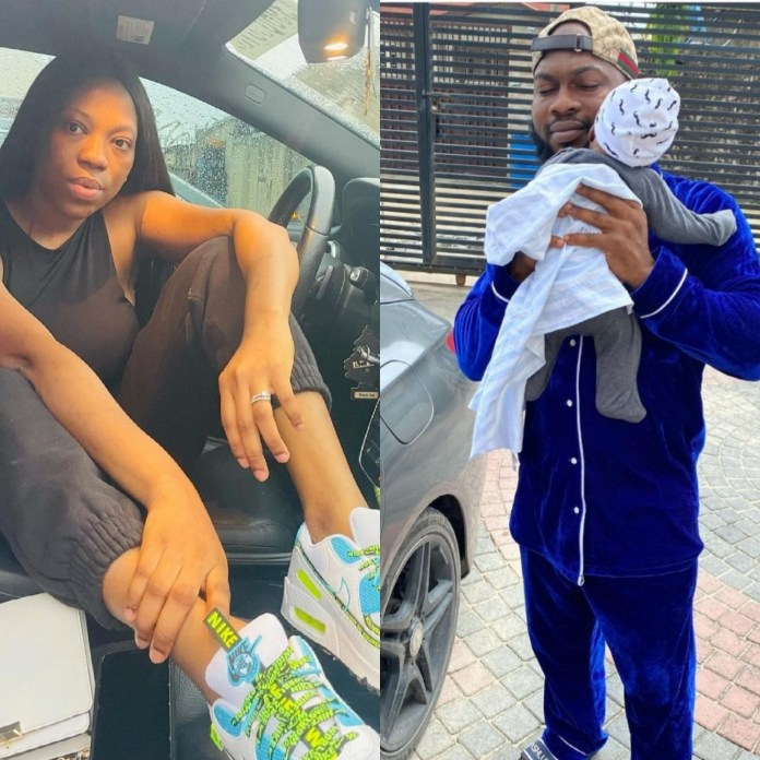 Bolanle (Pepper Dem) And Hubby Fight Dirty, Separate After 6 Months