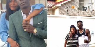 Shatta Wale and Magdelene Love and his Mum
