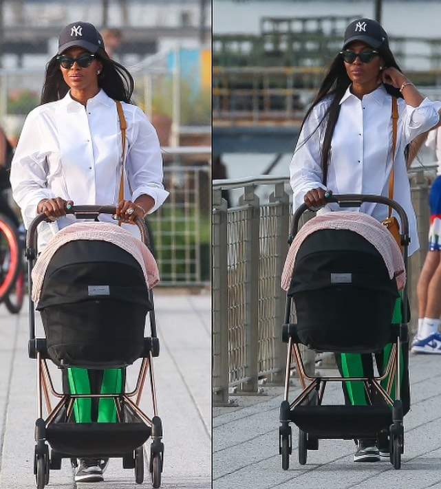 Naomi Campbell Seen In Public With Her Newborn Daughter For The First Time 9 KOKO TV NG.j