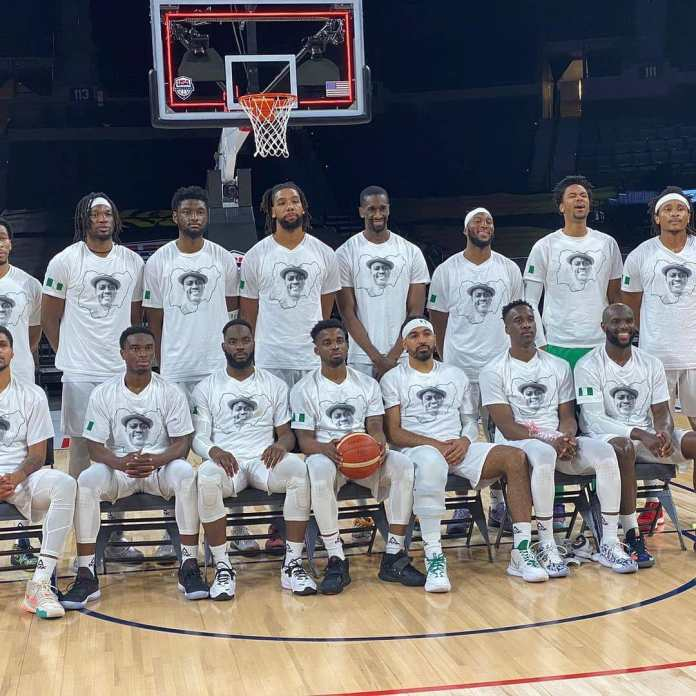 D'Tigers Basketball Team