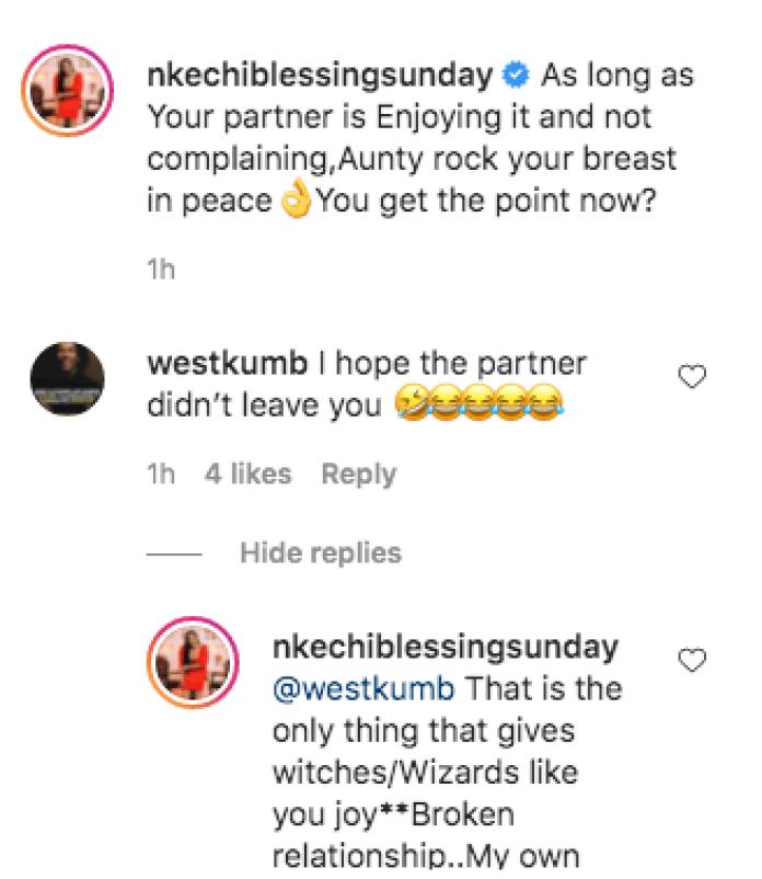Nkechi Blessing, Mary Remmy Njoku Slam Those Shaming BBNaija Angel For Saggy Boobs
