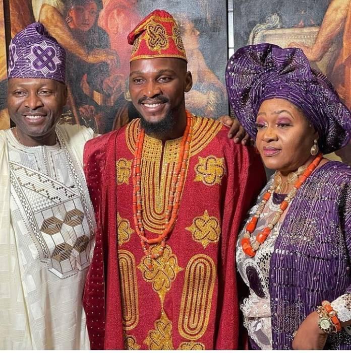 First Photos And Video's From BBNaija Tobi Bakre And Anu Oladosu's Wedding