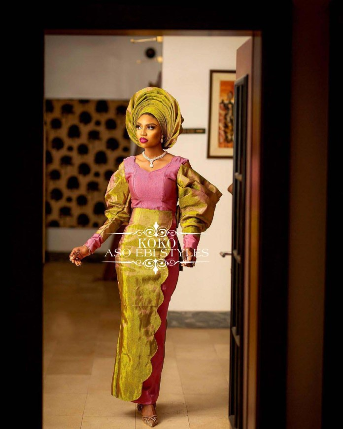 Be The Perfect August Visitor In These Alluring Aso Ebi Styles