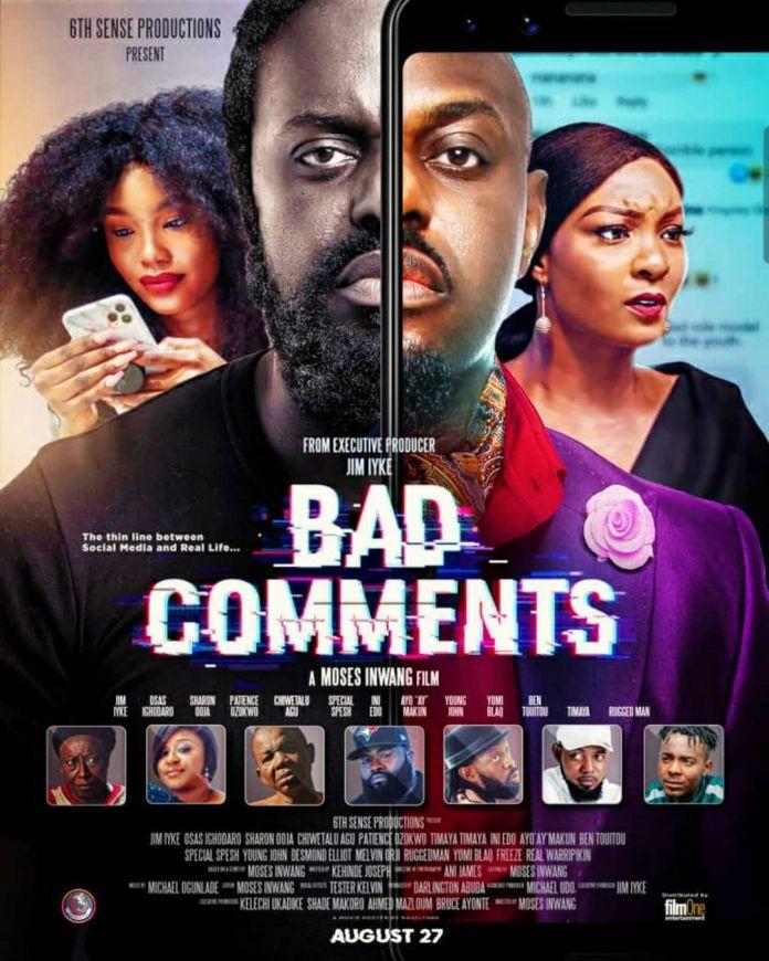 Days After Beating Uche Maduagwu, Jim Iyke To Drop Movie Addressing Cyber Trolling