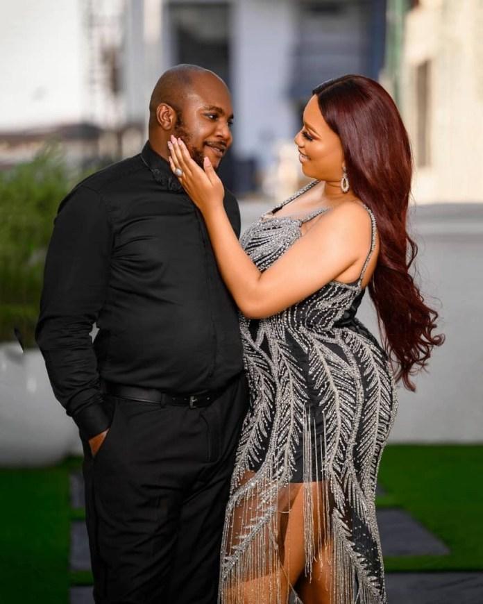 Sandra Iheuwa and new Ubi Franklin