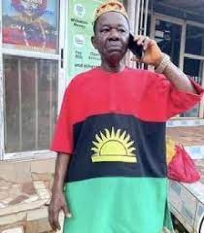 Chinwetalu Agu Rocks Biafra Flag Outfit