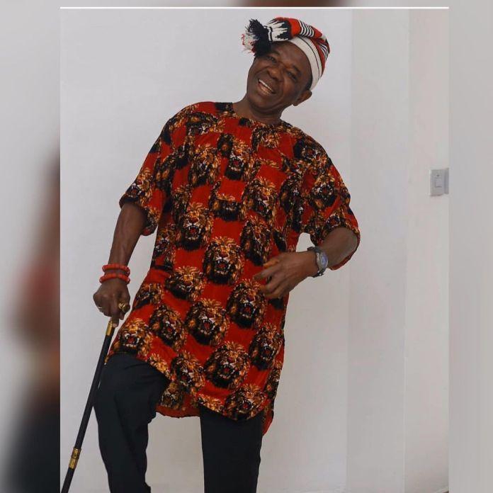 Actor Chinwetalu Agu Rocks Biafra Flag Outfit KOKOTVNG