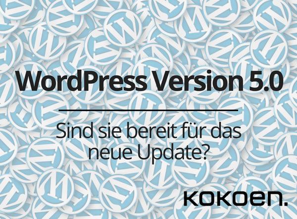 WordPress Version 5.0