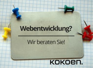 Webentwicklungs-Beratung