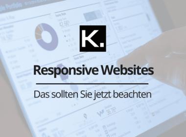 Responsive Websites Beitragsbild