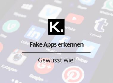 Fake Apps erkennen Beitragsbild