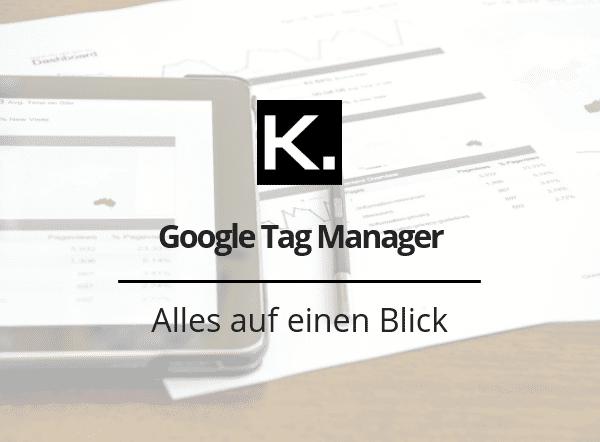 Google Tag Manager einrichten