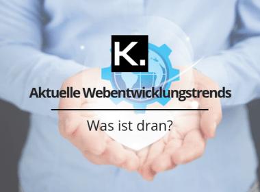 Webentwicklungstrends