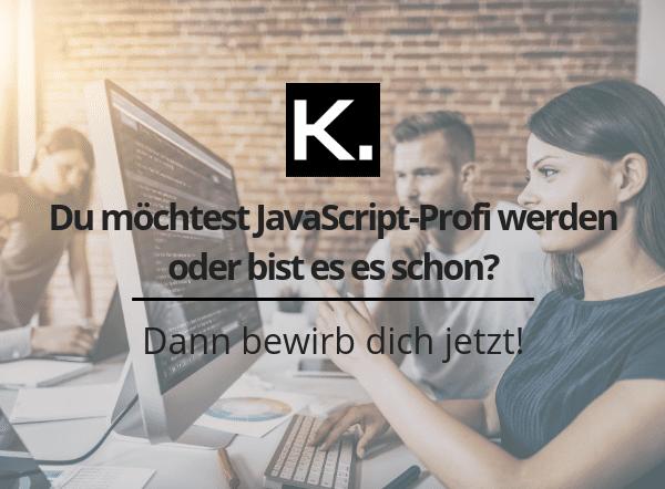 Stellenanzeige JavaScript-Entwickler_Beitragsbild