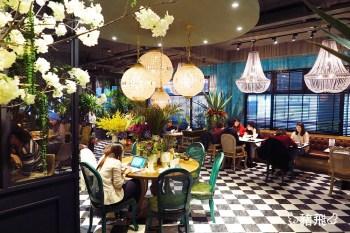 【台中美食】O'IN Tea House~浮誇美景無極限!在市區打造綠意盎然的熱帶雨林花園咖啡廳,掀起IG拍照打卡新風潮(已歇業)
