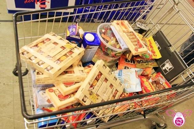 【德國】大雪紛飛的街景&德國超市必買挖寶伴手禮