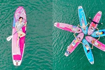 花蓮不只好山好水,還有另類水上活動玩法!全年開放鯉魚潭SUP立槳,用不同角度欣賞美景