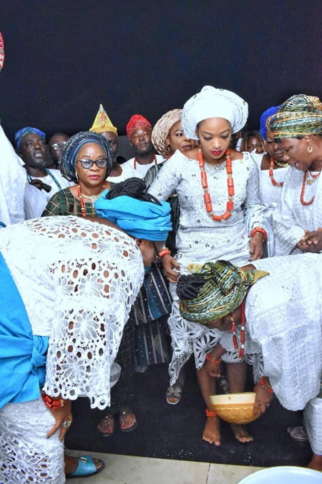 Photos From The Ooni Of Ife's Wedding Ceremony jaiyeorie