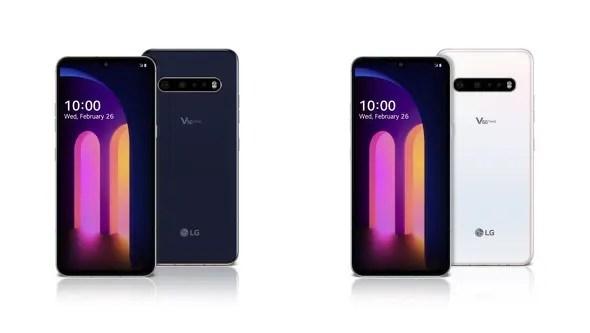 LG V60 ThinQのスペック