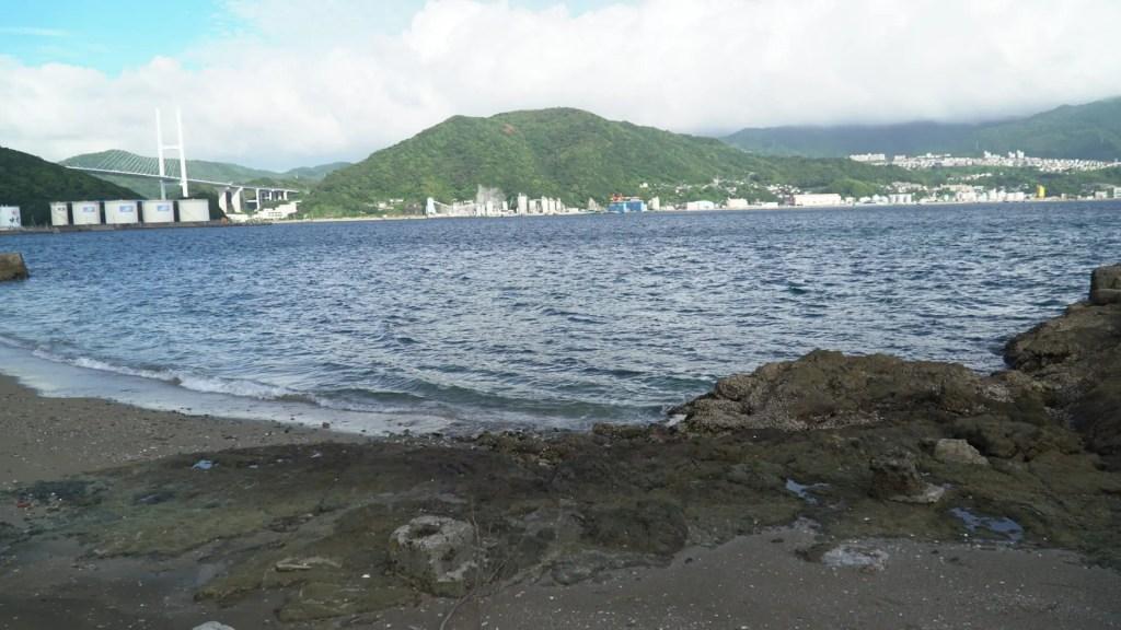 鼠島海水浴場跡地