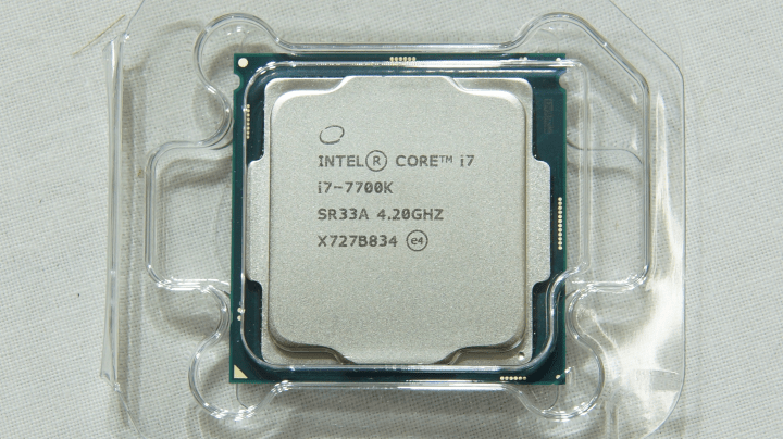 Intel Core i7-7700k 4.20GHz 本体